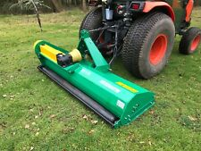 Tractor Mounted  Flail Mower Topper 1.55m . Off Set.  £1275 inc VAT and Delivery