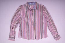 Tommy Hilfiger Damen Hemd Bluse Gestreift Größe XL