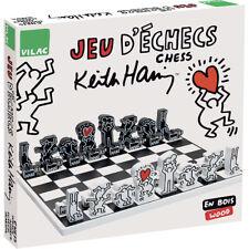 Jeu d'échecs en bois Keith Haring (6+) - Vilac 9221