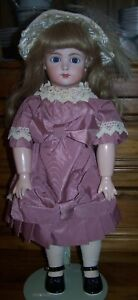 SUPERB REPRODUCTION FRENCH DOLL - LAURA HICKEY DOLLS