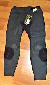 FRANK THOMAS LEATHER MotorCycle Pants never worn with tags Size 34