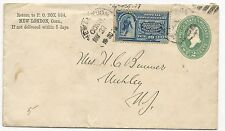 US SPECIAL DELIVERY STAMP COVER Scott #E2 New London, CT