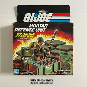 Hasbro G.I.JOE ARAH 1984 Mortar Defense Unit MIB Sealed Contents