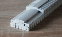 GL-17 Fabrik Speicher / Diorama 1:700
