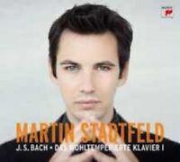 """MARTIN STADTFELD """"BACH DAS WOHLTEMPERIERTE..."""" 2 CD NEU"""