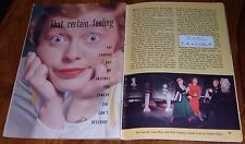 1957 TV ARTICLE~PAT CARROLL~VOICE OF URSULA LITTLE MERMAID~ACTOR & COMEDIAN