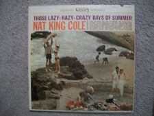 NAT KING COLE The Lazy Hazy Crazy Days of Summer Capitol ST 1932 Stereo Vinyl