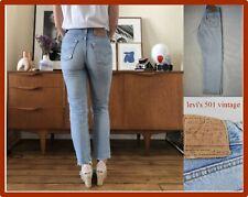 levi's 501 jeans levis bambina donna 8 9 anni vita alta vintage usato strappati