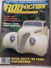 Rod Action Magazine Seat Riser Installation Pontiac November 1986 040717NONRH