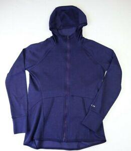 Champion Duo Dry Women's XS Full Zip Hoodie Lightweight Athletic Jacket Purple