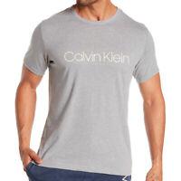 NWT CALVIN KLEIN AUTHENTIC CHILL MEN'S WOLF GRAY CREW NECK SHORT SLEEVE T-SHIRT
