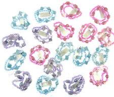 Row Chunky Bracelets Mix (uk) Cbb Ladies Lot Of 6 X Stretch Double