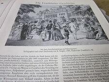 Frankfurt Archiv A 5 Geschichte 2075 vor Gesellschaftshaus Palmengarten 1885 Kög