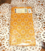 "Longaberger  2 ""GOLDEN FIELDS""  FABRIC NAPKINS!   NEW!  L@@K   BUY IT NOW!"