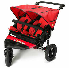 Brand new in box Out n About nipper 360 double pushchair v4 Carnival red and pvc