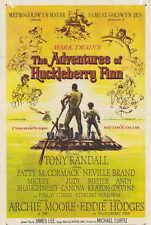 THE ADVENTURES OF HUCKLEBERRY FINN Movie POSTER 11x17 Tony Randall Eddie Hodges
