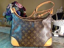 US SELLER!!! Authentic LOUIS VUITTON MONOGRAM BOULOGNE 30 BAG LV Good
