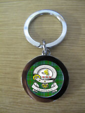 CRANSTOUN CLAN KEY RING (METAL) IMAGE DISTORTED TO PREVENT INTERNET THEFT