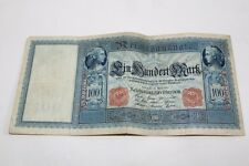 altes Geld Reichsbanknote 100 Mark Berlin 21.4.1910
