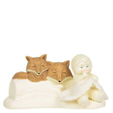 Snowbabies - Peaceful Moment Figurine - Snowbaby with Foxes