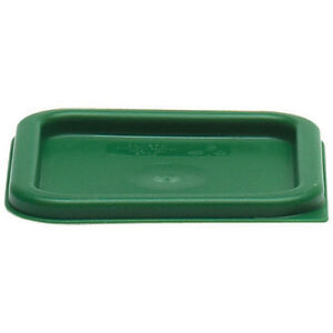 Cambro Square Green Lid For 2 and 4 Qt. Capacity Containers