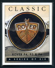 CLASSIC ROVER Collectors Card Set - P4, P5, P6 inc 3500S P5B 2000 Cyclops images
