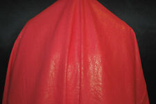 Linen Rayon Foggy Foil Allover woven fabric Beautiful shiny Gold on Coral