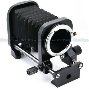 Macro lens bellows for Nikon F mount lens film DSLR SLR