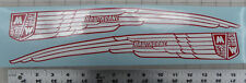 Hawthorne bicycle tank decals