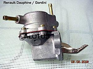 RENAULT DAUPHINE GORDINI ONDINE FLORIDE fuel pump NEW RECENTLY MADE
