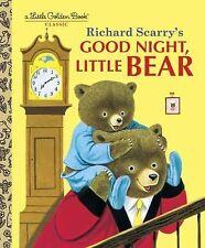 Little Golden Book Ser.: Good Night, Little Bear (2001, Hardcover)