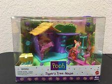 TIGGERs TREE HOUSE Pooh's Friendly Places DISNEY Mattel 1999 NEW Sealed Winnie