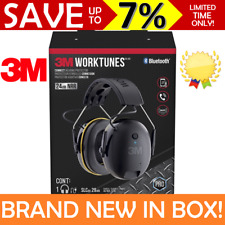 NEW 3M Worktunes Call Connect Wireless Protector Earmuff Headphones Bluetooth