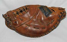 Vintage Wilson A2600 Leather First Baseman Baseball Glove Right-Hand Throw RHT