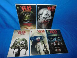 2012 (Image) '68 Scars 1-4 Complete Set (1 2 3 4) 1ST PRINTS + 1 Variant