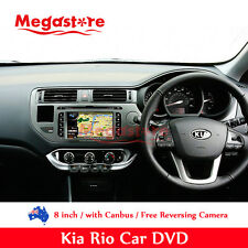 "8"" Car DVD Player GPS Nav for Kia Rio Canbus BT CD Radio 2012-2014"