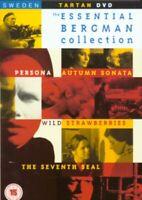 Persona/Autunno Sonata/Selvatico Fragole / il Settimo Sigillo DVD Nuovo (TVD36