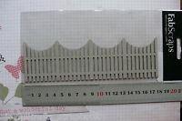 Garden Paling FENCE 52x178mm - Single DieCut from Chipboard GH
