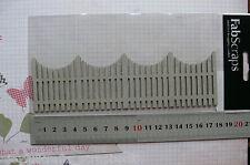 Garden Paling Fence 52x178mm - Single Diecut From Chipboard