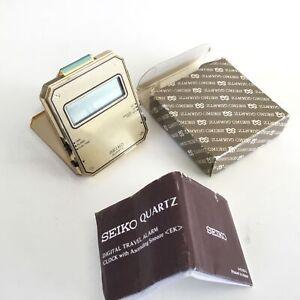 Vintage Seiko Quartz Travel Alarm Clock - Model. QEK203G #451