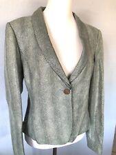$5195 **size 46/12 GIORGIO ARMANI genuine leather lamb skin jacket made in ITALY