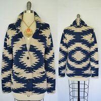 Ralph Lauren denim supply Cardigan SWEATER Aztec SOUTHWESTERN tribal  jacket