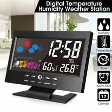 Digital indoor and outdoor thermomètre sans fil Station météo capteur extérieur
