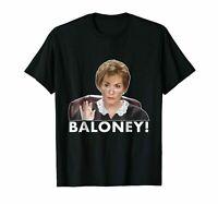 2BALONEY JUDGE JUDY FUNNY BLACK S USA Mens fashion Brand T Shirt