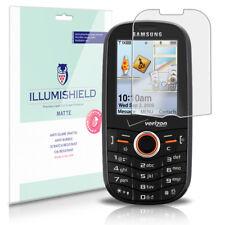 iLLumiShield Matte Screen Protector w Anti-Glare/Print 3x for Samsung Intensity