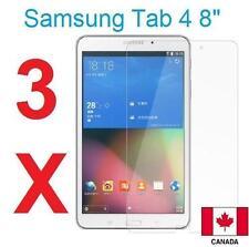 "3X Clear HD LCD Screen Protector Guard Flim For Samsung Galaxy Tab 4 8"" T330"