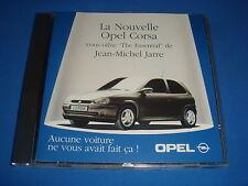 CD PROMO OPEL CORSA / JEAN-MICHEL JARRE / THE ESSENTIAL 14 TITRES DREYFUS 1985