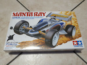 Tamiya 1/32 Mini 4wd Manta Ray Jr. nuovo! Vintage 1991