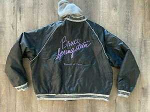 Bruce Springsteen & The E Street Band Tunnel of Love Tour Jacket Columbia Record