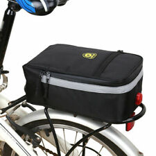 Bike Bicycle Rear Rack Bag Tail Seat Pannier Trunk Pack Waterproof Large Storage